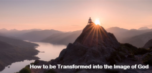 How to be Transformed into the Image of God