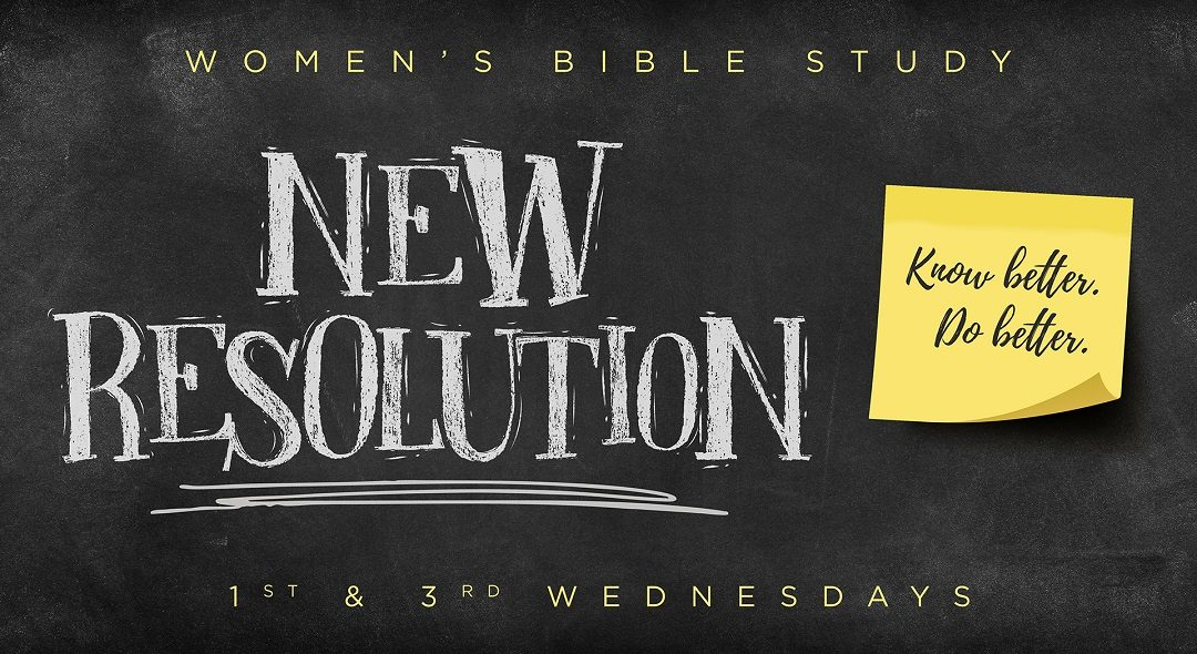 Women's Wednesday Evening Bible Study